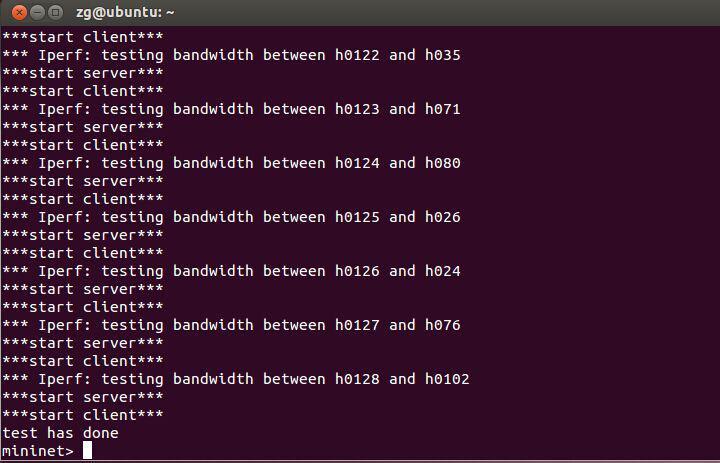 概率模型,为每一台主机选取对应主机,发送数据包,如下图所示2