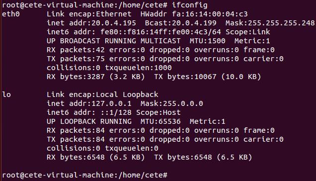 基于Open vSwitch的VxLAN隧道实验网络 预先配置 图2