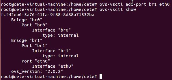 基于Open vSwitch的VxLAN隧道实验网络 预先配置 图6
