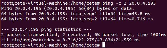 基于Open vSwitch的VxLAN隧道实验网络 4.4 图1