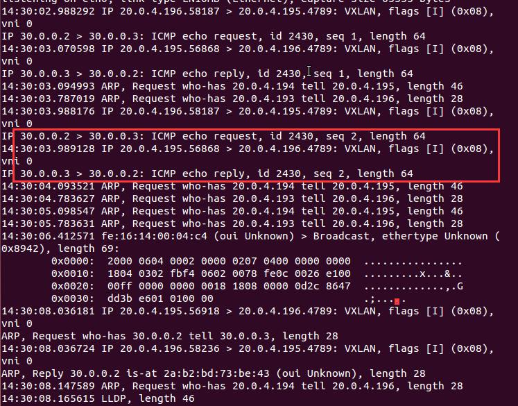 基于Open vSwitch的VxLAN隧道实验网络 4.4 图6