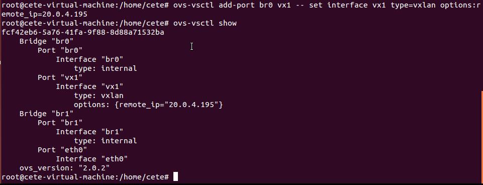 基于Open vSwitch的VxLAN隧道实验网络 4.5 图4