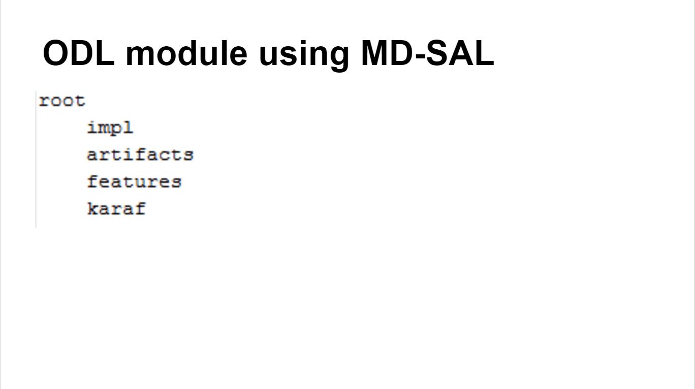 OpenDaylight中编程抽象的实现 图5