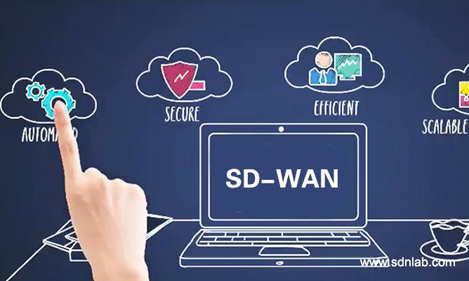 SD-WAN提供安全的云服务接入